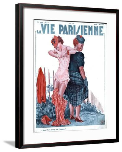 La Vie Parisienne, Erotica Underwear Magazine, France, 1937--Framed Art Print