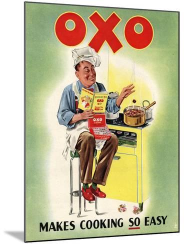 OXO, Chefs Cooking, UK, 1950--Mounted Giclee Print