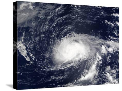 Hurricane Kyle-Stocktrek Images-Stretched Canvas Print