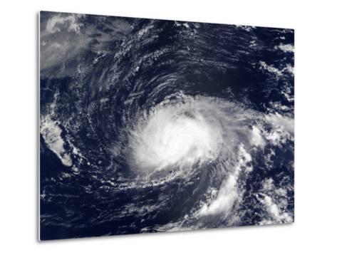 Hurricane Kyle-Stocktrek Images-Metal Print