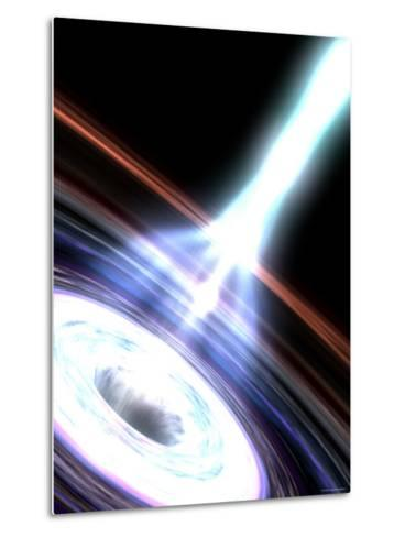 Gamma Rays in Galactic Nuclei-Stocktrek Images-Metal Print