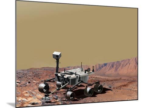 Nasa's Mars Science Laboratory-Stocktrek Images-Mounted Photographic Print