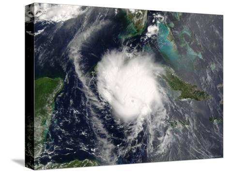 Hurricane Charley-Stocktrek Images-Stretched Canvas Print