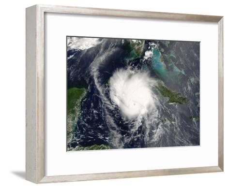 Hurricane Charley-Stocktrek Images-Framed Art Print