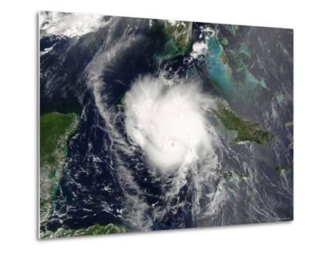 Hurricane Charley-Stocktrek Images-Metal Print