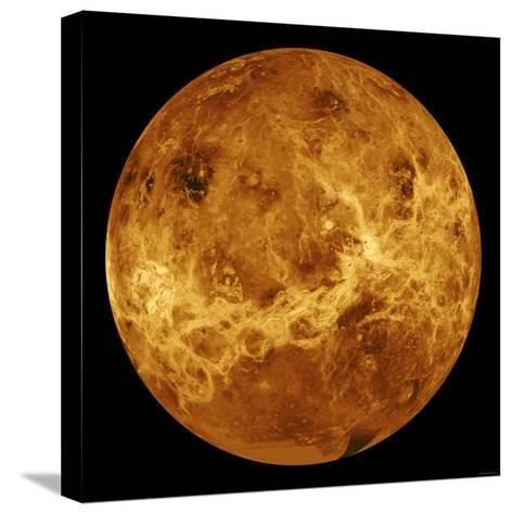 Global View of the Surface of Venus-Stocktrek Images-Stretched Canvas Print