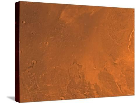 Amazonis Region of Mars-Stocktrek Images-Stretched Canvas Print
