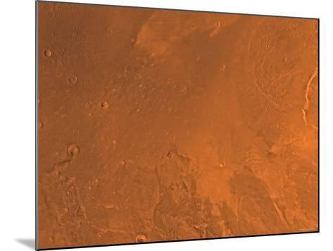 Amazonis Region of Mars-Stocktrek Images-Mounted Photographic Print