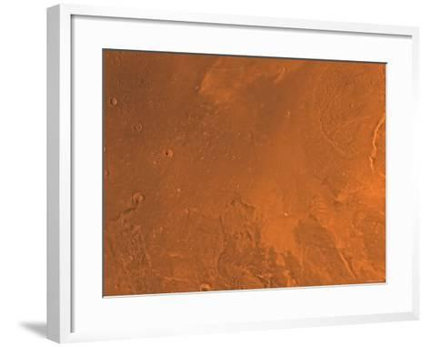 Amazonis Region of Mars-Stocktrek Images-Framed Art Print