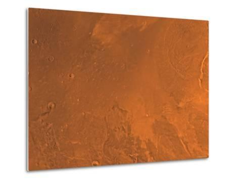 Amazonis Region of Mars-Stocktrek Images-Metal Print