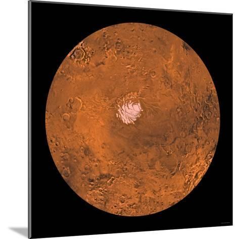 Mare Australe Region of Mars-Stocktrek Images-Mounted Photographic Print