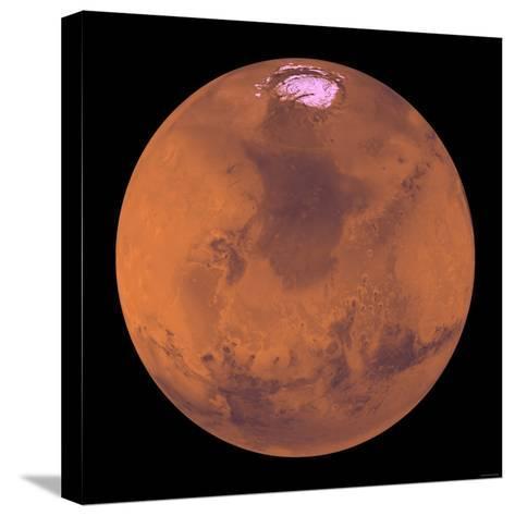 Mars-Stocktrek Images-Stretched Canvas Print