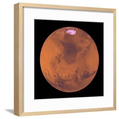 Mars-Stocktrek Images-Framed Art Print