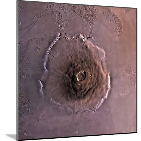 Olympus Mons, the Largest known Volcano in the Solar System-Stocktrek Images-Mounted Photographic Print