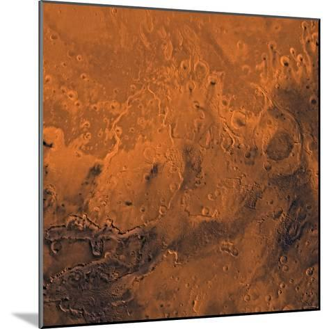 South Chryse Basin Valles Marineris Outflow Channels on Mars-Stocktrek Images-Mounted Photographic Print