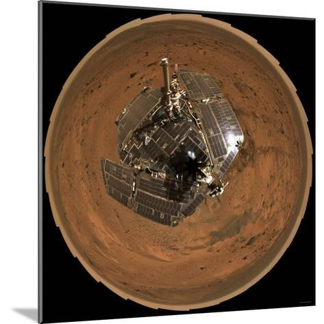 Mars Exploration Rover on the Surface of Mars-Stocktrek Images-Mounted Photographic Print