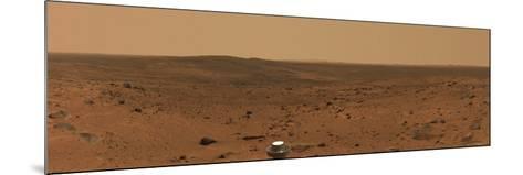 Panoramic View of Mars-Stocktrek Images-Mounted Photographic Print