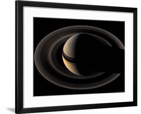 Saturn-Stocktrek Images-Framed Art Print