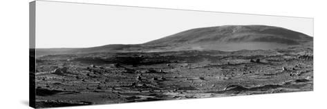 Panoramic View of Mars-Stocktrek Images-Stretched Canvas Print