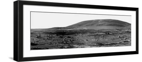 Panoramic View of Mars-Stocktrek Images-Framed Art Print