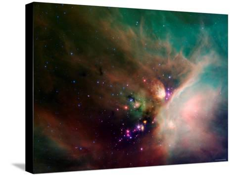 Rho Ophiuchi Nebula-Stocktrek Images-Stretched Canvas Print