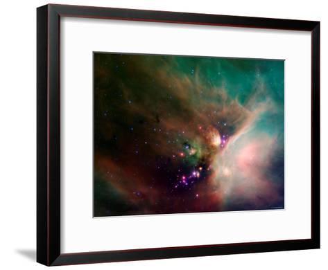 Rho Ophiuchi Nebula-Stocktrek Images-Framed Art Print