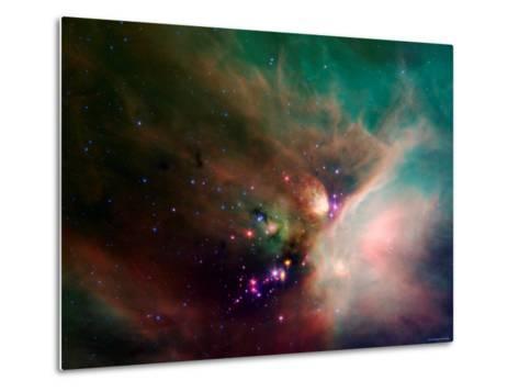 Rho Ophiuchi Nebula-Stocktrek Images-Metal Print