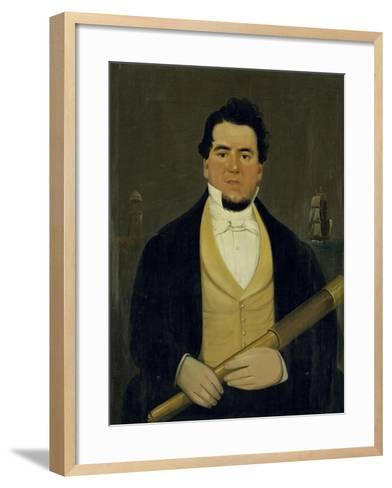 Captain Christopher Andrews-William Matthew Prior-Framed Art Print