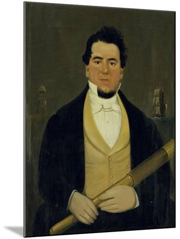 Captain Christopher Andrews-William Matthew Prior-Mounted Giclee Print