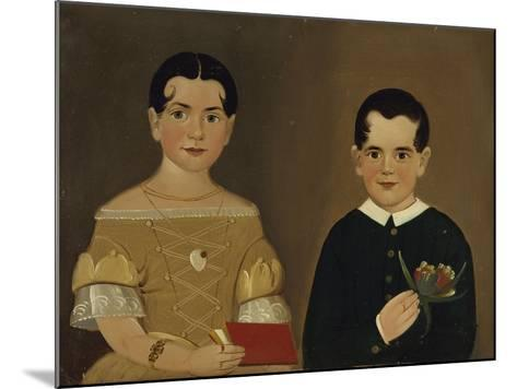 Two Children of Captain Christopher and Mrs. Ruth Andrews-William Matthew Prior-Mounted Giclee Print