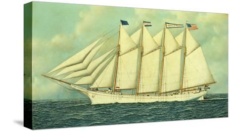 The George W. Truitt, Jr, 1906-Antonio Jacobsen-Stretched Canvas Print