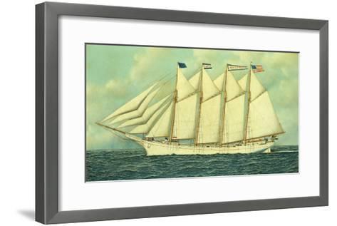The George W. Truitt, Jr, 1906-Antonio Jacobsen-Framed Art Print
