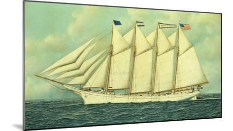 The George W. Truitt, Jr, 1906-Antonio Jacobsen-Mounted Giclee Print