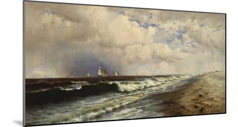 Passing Shower-Francis Augustus Silva-Mounted Giclee Print