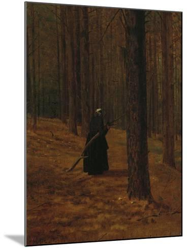 Old Woman Gathering Brush, 1865-Winslow Homer-Mounted Giclee Print