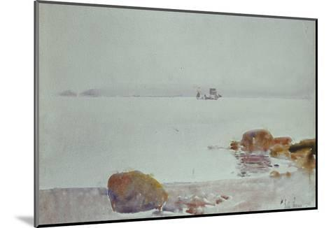 Seascape-Childe Hassam-Mounted Giclee Print