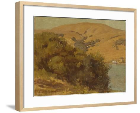 View of the Bay-Granville Redmond-Framed Art Print