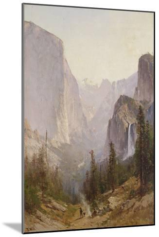 Yosemite Waterfall-Thomas Hill-Mounted Giclee Print
