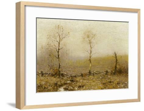 Fall Morning-Bruce Crane-Framed Art Print
