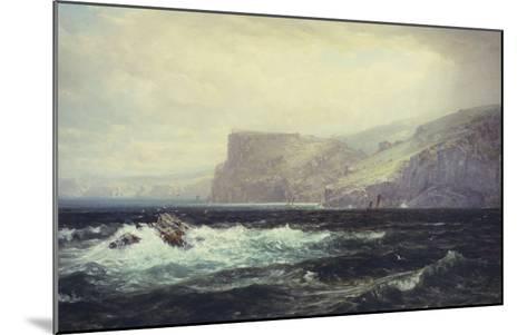 Tintagel Coast, 1884-William Trost Richards-Mounted Giclee Print