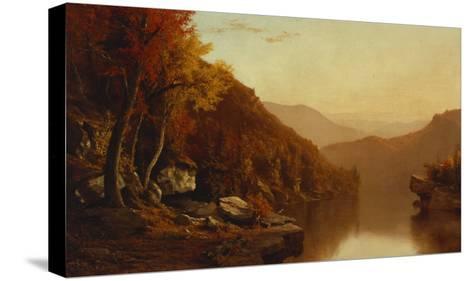 Shawanagunk Mountains, Autumn, 1863-Jervis Mcentee-Stretched Canvas Print