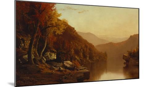 Shawanagunk Mountains, Autumn, 1863-Jervis Mcentee-Mounted Giclee Print