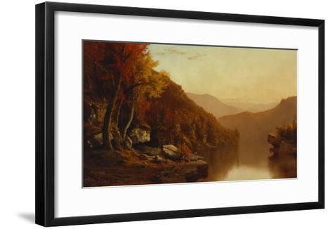 Shawanagunk Mountains, Autumn, 1863-Jervis Mcentee-Framed Art Print