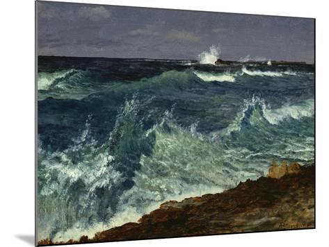 Seascape-Albert Bierstadt-Mounted Giclee Print