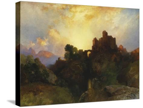 Caledonia, Stern and Wild, 1919-Thomas Moran-Stretched Canvas Print