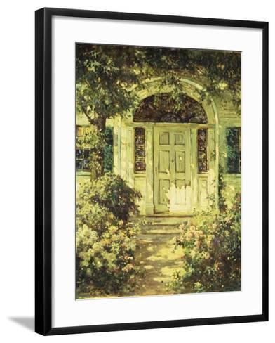 The Doorway-Abbott Fuller Graves-Framed Art Print