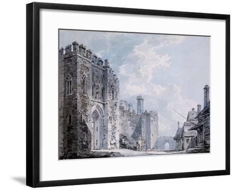 The Gateway Rochester, 1793-4-J^ M^ W^ Turner-Framed Art Print