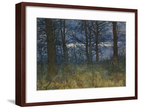The Wood at Dusk, 1884-William Fraser Garden-Framed Art Print