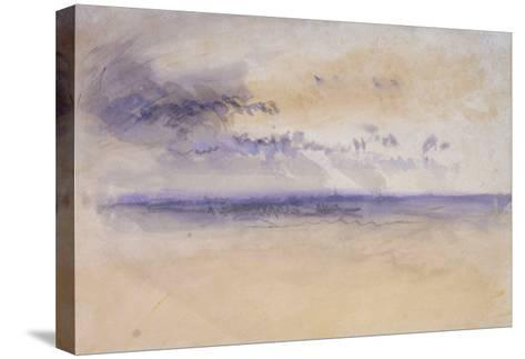Off the Coast: Seascape and Clouds, 19th Century-J^ M^ W^ Turner-Stretched Canvas Print