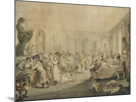 Very's Restaurant in the Palais Royal, Paris, 1803-John Nixon-Mounted Giclee Print
